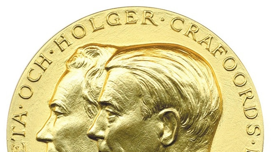 The Crafoord Prize in Astronomy and Mathematics, Biosciences, Geosciences or Polyarthritis research is awarded by the Royal Swedish Academy of Sciences. At 4 million Swedish krona, it is one of the world&#39&#x3b;s largest scientific prizes.