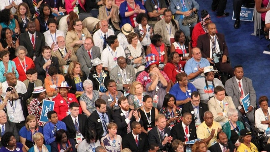 Day 3 of the 2012 Democratic National Convention.