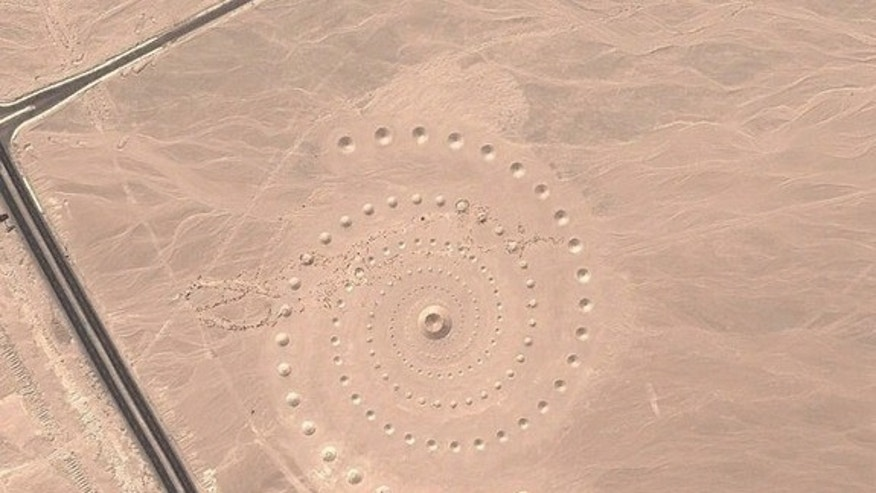 Desert Breath, as seen on Google Maps.