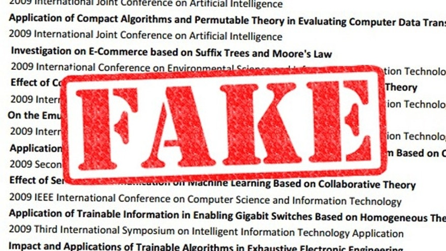 How computer-generated fake papers are flooding academia