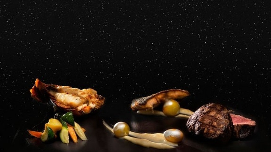 "The ""Taste The Stars"" menu at the Four Seasons Resort in Costa Rica was developed with former NASA astronaut Franklin Chang Diaz. The dinner includes real meteorite sauce."