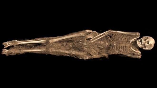 1,300-year-old Egyptian mummy had tattoo of Archangel Michael