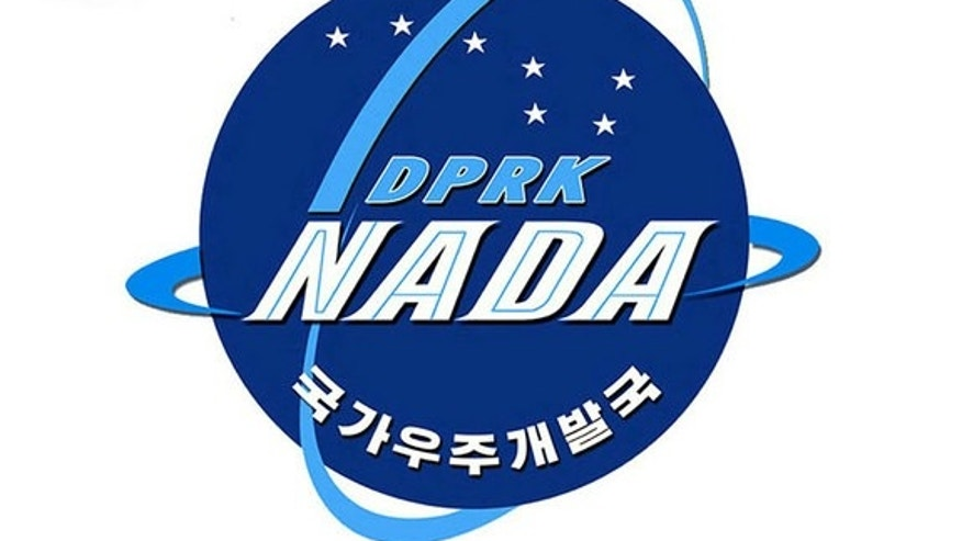 Official emblem of North Korea's newly-named space agency, the National Aerospace Development Administration.