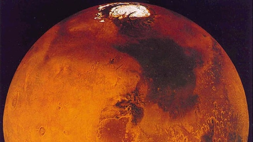 The planet Mars is seen in this recent undated handout image from NASA.