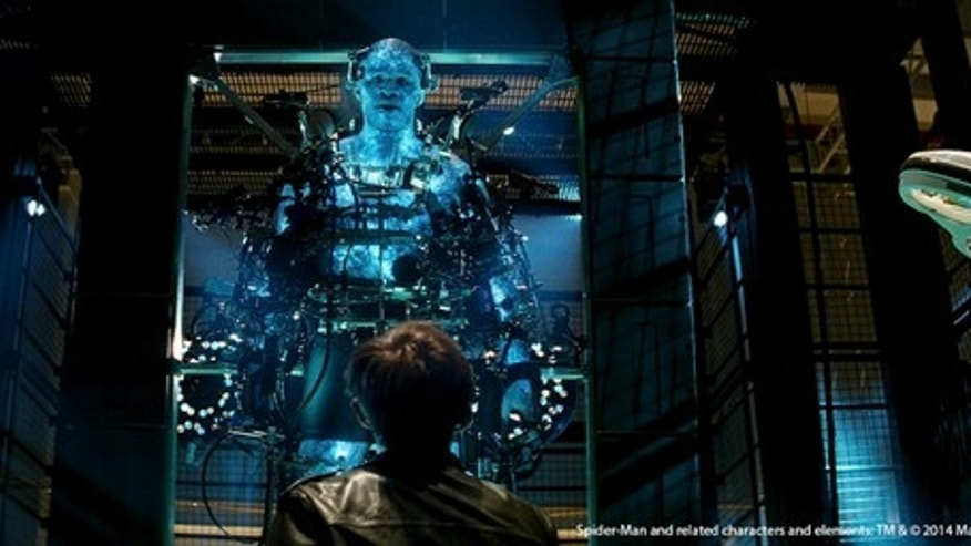 "Exosuits abound in ""Spider-Man 2,"" with both the Goblin and Rhino donning the robotic exoskeletons in the flick. Such evildoers use these highly engineered exosuits — similar to some actually in development in the United States — to become supe"