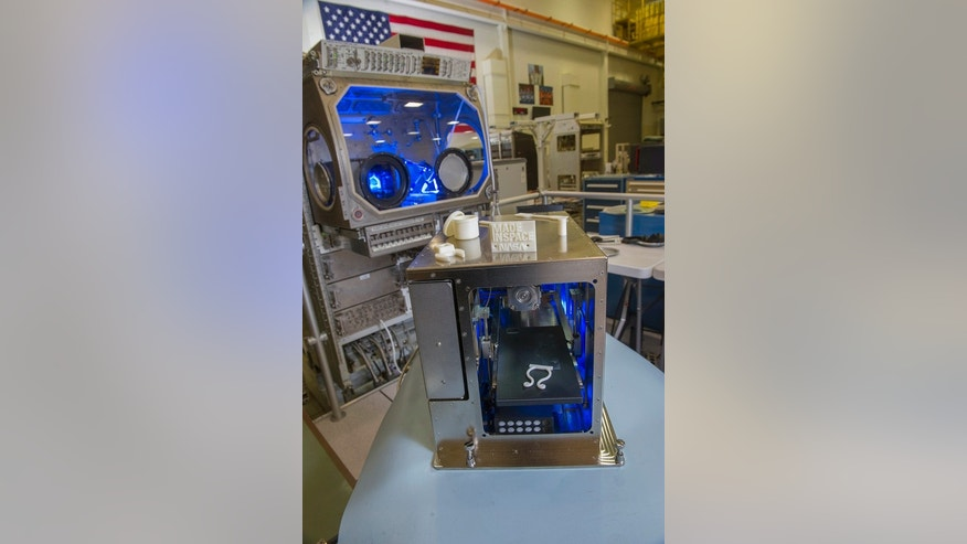 In April, this 3-D printer passed tests at NASA's Marshall Space Flight Center in Huntsville, Alabama.
