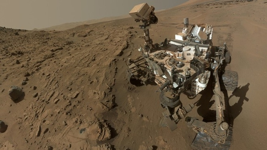 June 23, 2014: NASA's Curiosity Mars rover self-portrait.