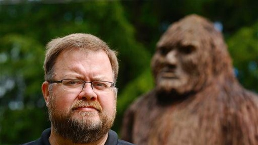 Rhettman Mullis, seen in an Aug. 5, 2014 photo, is another researcher who co-authored a study analyzing hair from presumed Sasquatches, yetis, and other hairy humanoids.