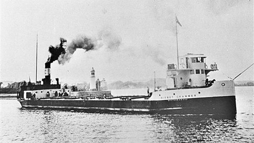 This undated photo provided by James Kennard shows the Nisbet Grammer on the St. Lawrence River in Quebec, Canada.