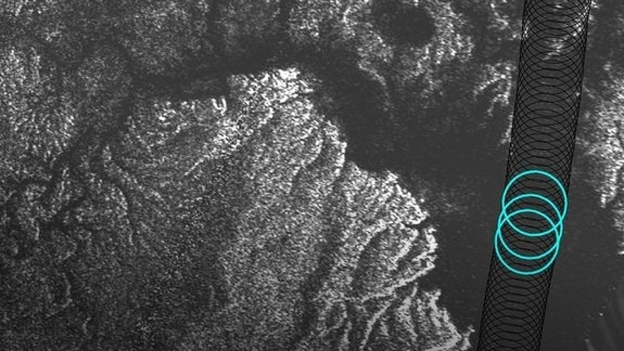 Radar data from NASA's Cassini spacecraft reveal the depth of liquid methane/ethane seas on Saturn's moon Titan.
