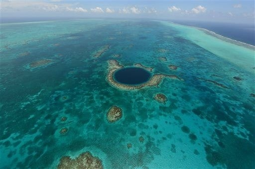 Does 'Blue Hole' hold secret to Mayan collapse?