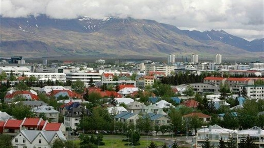 In this Saturday, May 31, 2008 file photo, a view across Reykjavik in Iceland.
