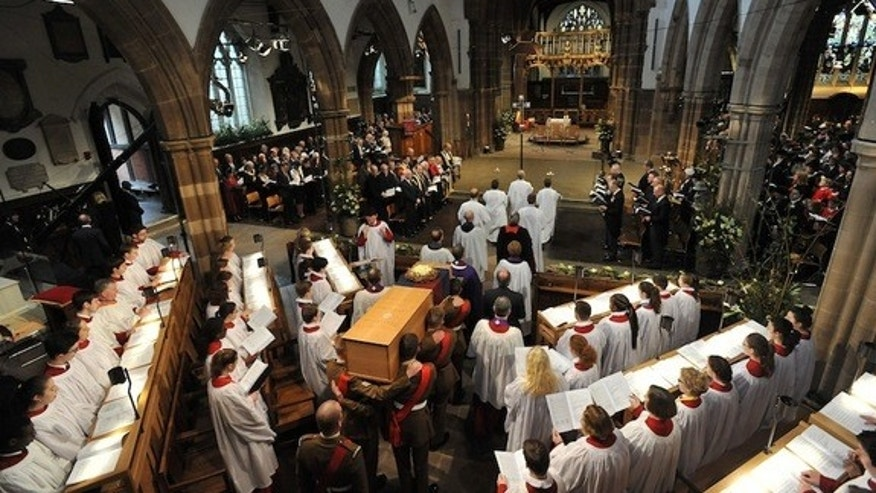 Richard III was reburied in Leicester Cathedral on March 26.