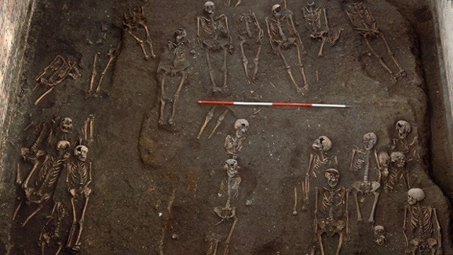 Remains of more than 1,000 discovered in excavation of medieval cemetery at University of Cambridge