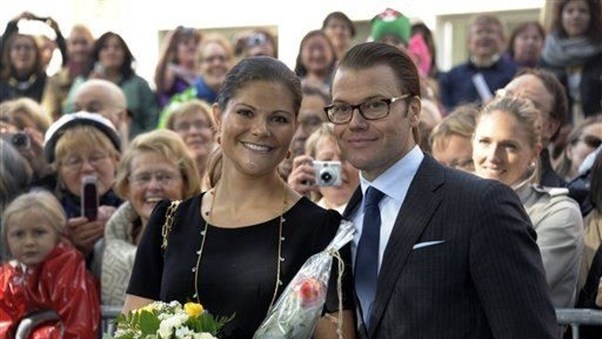 Sweden's Crown Princess Victoria and Prince Daniel in 2011. Traits of white skin emerged more recently than thought in Europe.