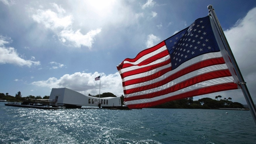 File photo - A view of the USS Arizona Memorial during the 50th anniversary ceremony at the World War II Valor in the Pacific National Monument in Honolulu, Hawaii May 27, 2012.