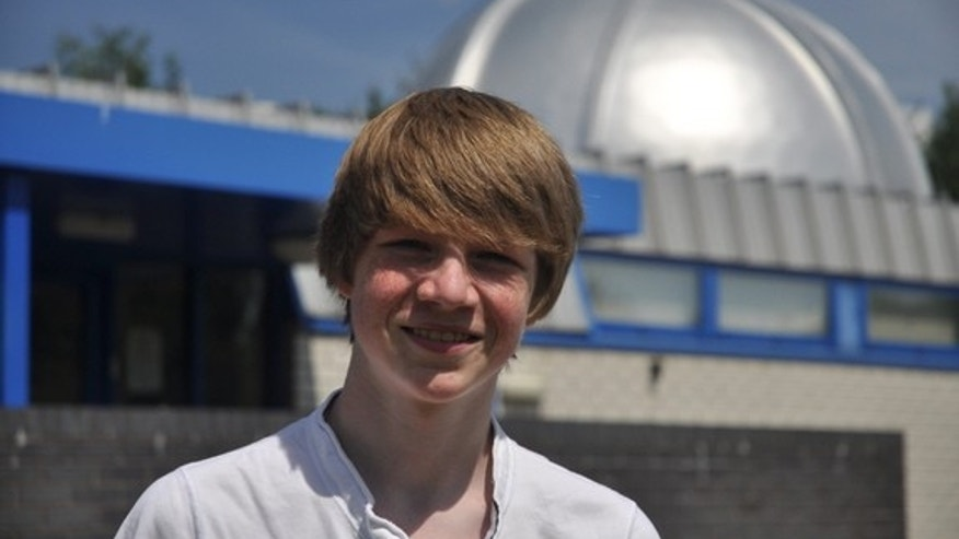 High school student Tom Wagg spotted a Jupiter-size exoplanet two years ago, at the age of 15.