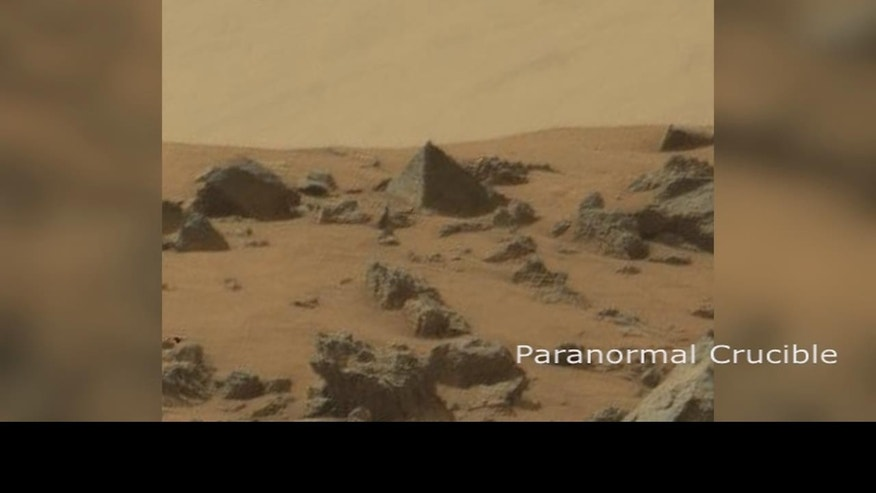 The truth is out there: Did NASA Rover find a pyramid on ...