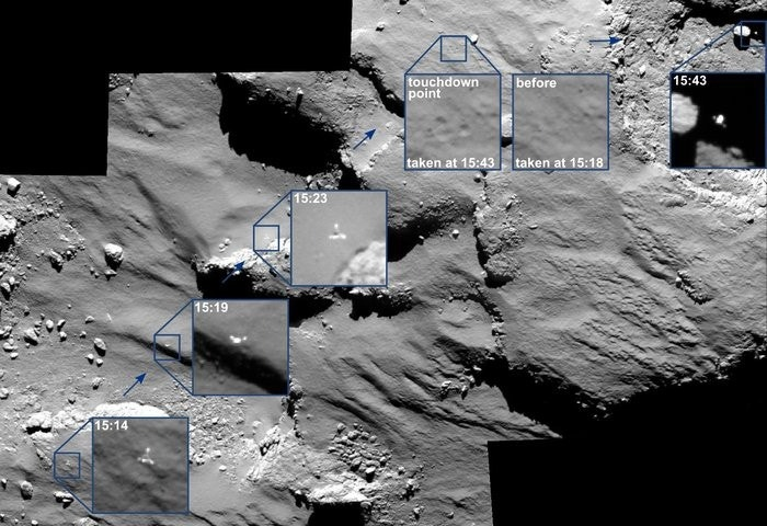 Philae's comet may host alien life, scientists say