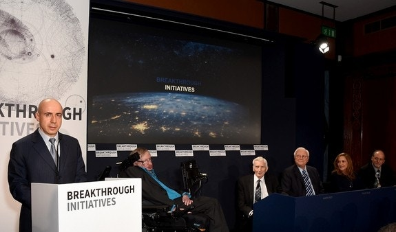 Stephen Hawking helps launch massive search for E.T.