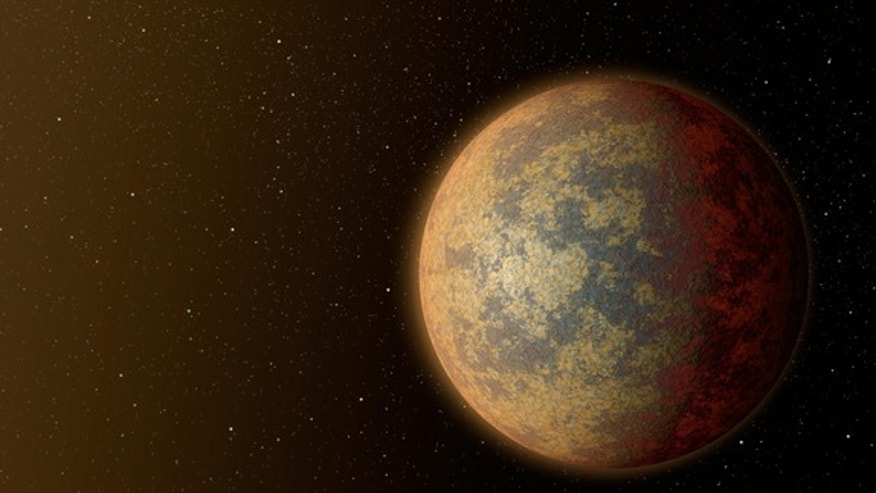 An illustration suggests what newly confirmed rocky planet HD 219134b may look like. Image released July 30, 2015.