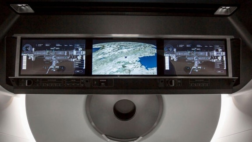 SpaceX's Crew Dragon displays will provide real-time information on the state of the spacecraft's capabilities.