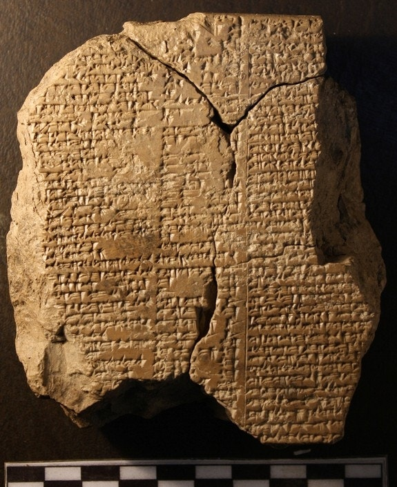 Lost 'Epic of Gilgamesh' verse depicts cacophonous abode of gods