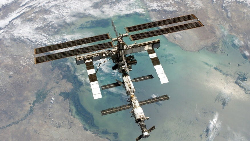The International Space Station turned 15 on Monday. (NASA)
