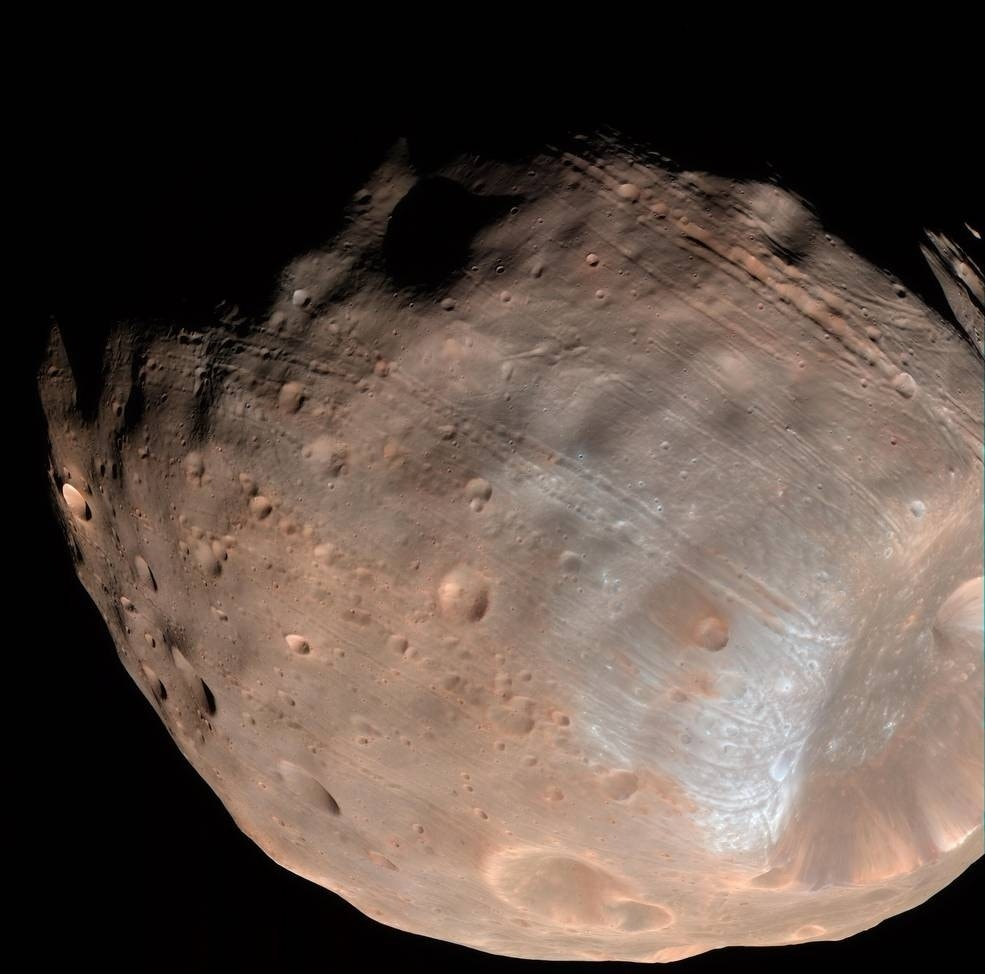 Mars' moon Phobos could be headed for destruction