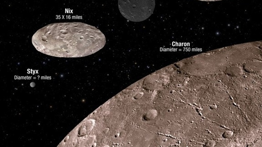 The four smallest moons of Pluto are exhibiting very strange behavior, according to scientists with the New Horizons mission.