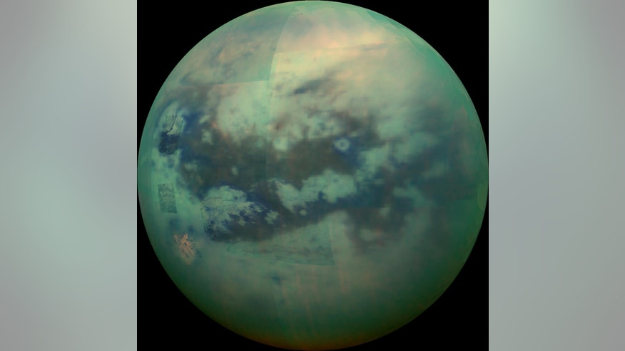Saturn's moon Titan.