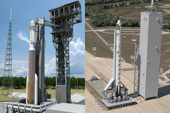 SpaceX, ULA transforming historic launchpads for ...