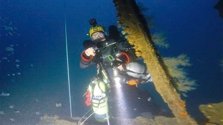 Exceptional deep-sea find: ship that once held ancient condiment