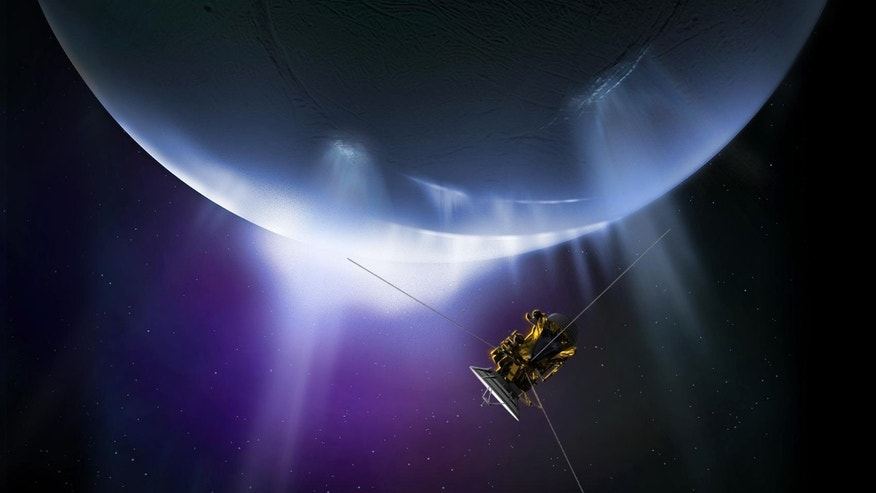 An exciting chapter of space exploration history will come to a close as NASA's Cassini spacecraft makes its final close flyby of Saturn's active, ocean-bearing moon Enceladus. (NASA/JPL-CalTech)