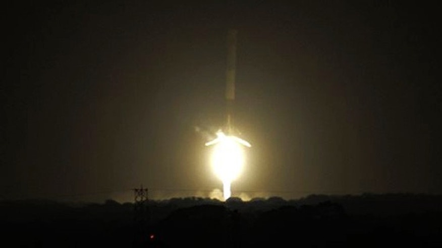 SpaceX launches rocket 6 months after accident, then lands
