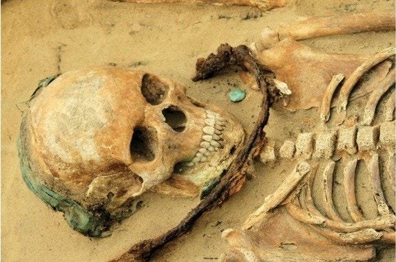 Sickle-wearing skeletons reveal ancient fear of demons