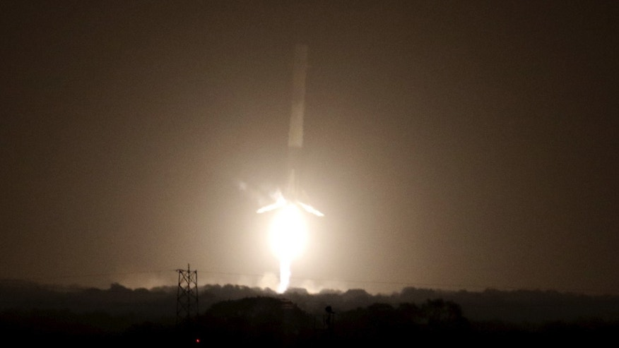 SpaceX releases stunning footage of Falcon 9 rocket landing