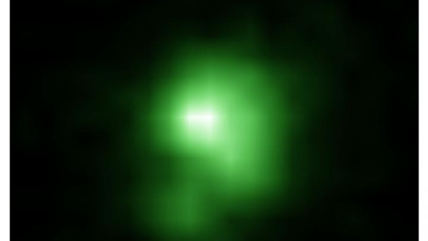 'Green Pea' galaxies may explain transformation of the universe