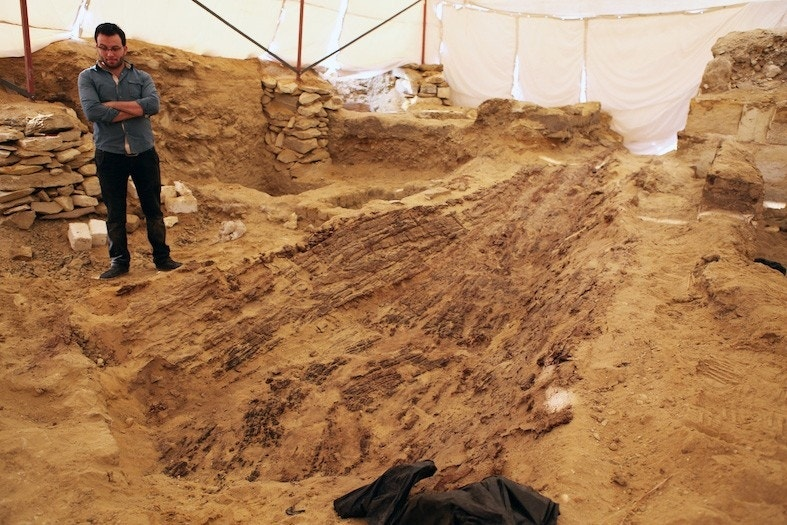Ancient 4,500-year-old boat discovered in Egypt