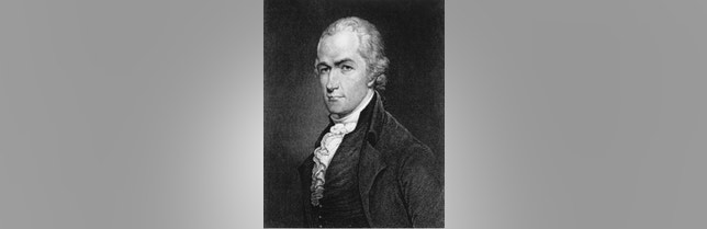 This is an undated photo of an etching of Alexander Hamilton. Many Americans appear convinced that Hamilton was once president of the United States.