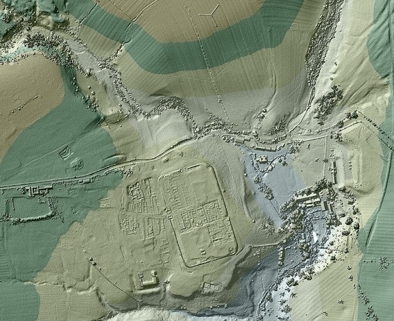 'Lost' roads of ancient Rome discovered with 3D laser scanners