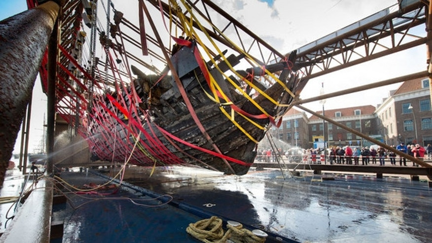 The wooden, flat-bottomed ship was first discovered in 2012 while a national organization was carrying out investigations to preserve water safety in the Dutch river.