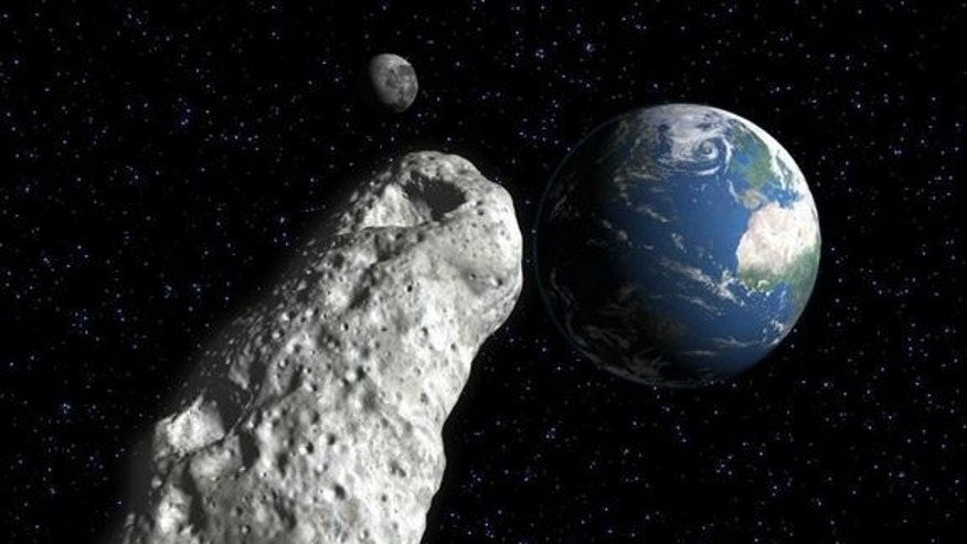 Asteroid set to whiz past Earth sometime this month