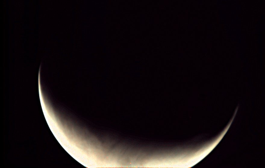 An image of Mars shot from ESA's Mars Express.