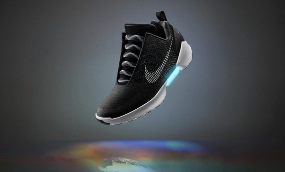 Nike unveils 'Back to the Future'-style self-lacing sneakers