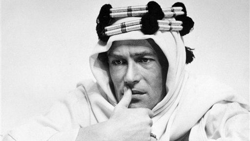 "In this 1961 file photo, actor Peter O'Toole is shown in the title role in the film ""Lawrence of Arabia.���"