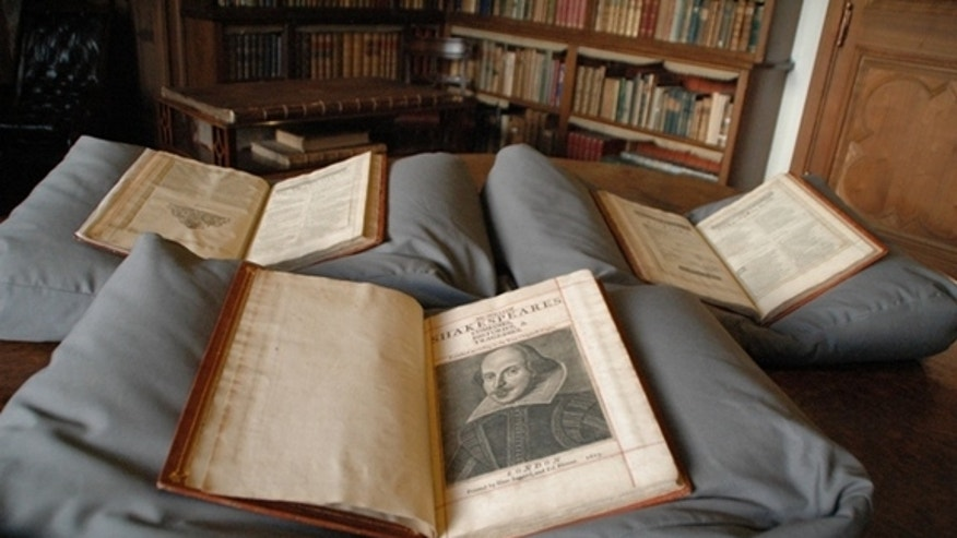 Rare collection of Shakespeare plays turns up in Scottish mansion