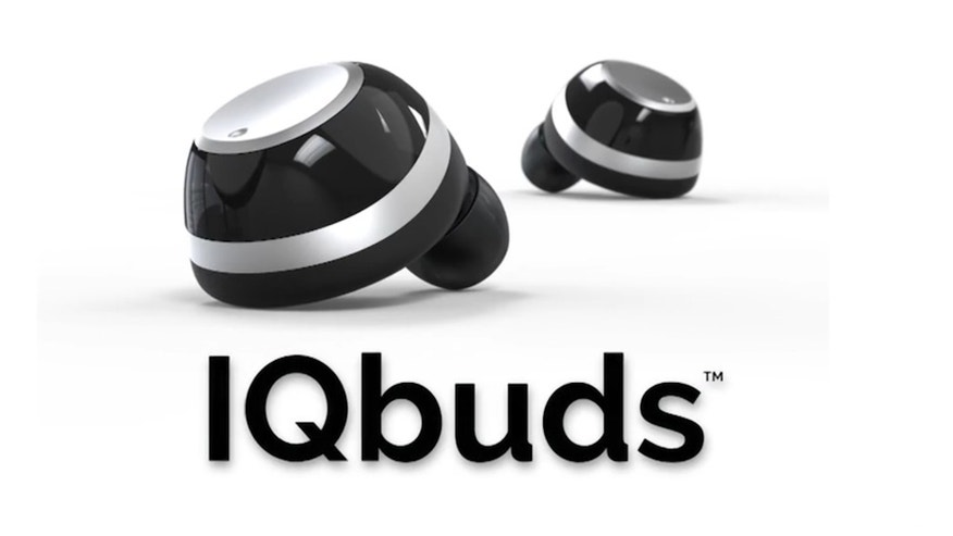 The IQbuds from Nuheara are equipped with noise-cancellation technology.