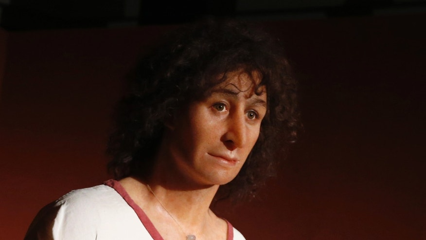 "A wax figure of ""The Young Phoenician Man of Carthage"" is seen during the opening of a special exhibition at the American University of Beirut (AUB) Archaeological Museum in Beirut January 29, 2014. (REUTERS/Jamal Saidi)"