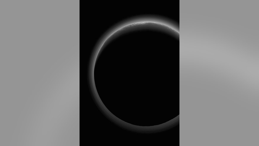 """This spectacular full-view of Pluto's so-called """"twilight zone"""" was captured by NASA's New Horizons spacecraft during its July 14, 2015 and released on June 2, 2016."""